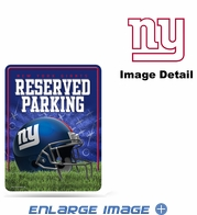 Parking Sign - Metal - New York Giants - RESERVED PARKING