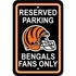 Parking Sign - Reserved Parking - Cincinnati Bengals -