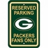 Parking Sign - Reserved Parking - Green Bay Packers -