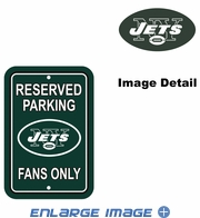 Parking Sign - Reserved Parking - New York Jets -