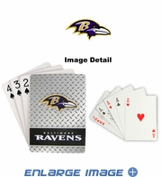 Playing Cards - Blackjack Poker - Baltimore Ravens