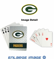 Playing Cards - Blackjack Poker - Green Bay Packers