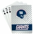 Playing Cards - Blackjack Poker - New York Giants