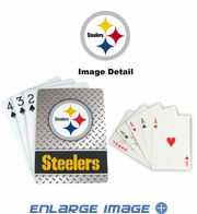 Playing Cards - Blackjack Poker - Pittsburgh Steelers