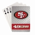 Playing Cards - Blackjack Poker - San Francisco 49ers