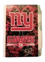 Pocket Notes - Mini Personal Hardcover Notepad - Pink - NFL - New York Giants