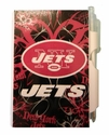 Pocket Notes - Mini Personal Hardcover Notepad - Pink - NFL - New York Jets
