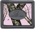 Rear Seat Utility Heavy Duty Trim-to-Fit Floor Mats - Camouflage - Mossy Oak Infinity Logo - Pink Print - PAIR