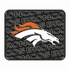 Rear Seat Utility Rubber Car Truck SUV Floor Mats - Denver Broncos - PAIR