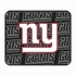 Rear Seat Utility Rubber Car Truck SUV Floor Mats - New York Giants - PAIR