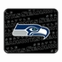 Rear Seat Utility Rubber Car Truck SUV Floor Mats - Seattle Seahawks - PAIR