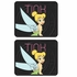 Rear Seat Utility Rubber Floor Mats - Tinker Bell - Pixie - PAIR