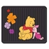 Rear Seat Utility Rubber Floor Mats - Disney - Winnie the Pooh - Paradise - PAIR