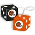 Rearview Mirror - Fuzzy Dice - Cincinnati Bengals