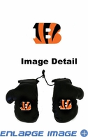 Rearview Mirror - Mini Boxing Gloves - Cincinnati Bengals