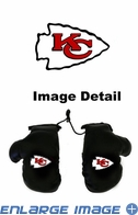 Rearview Mirror - Mini Boxing Gloves - Kansas City Chiefs
