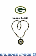 Shell Necklace - Green Bay Packers