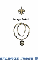Shell Necklace - New Orleans Saints