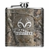 Small Flask - Stainless Steel - Realtree Outfitters - Camo - 6 oz