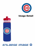 Sports Gym Bottle Cooler - Chicago Cubs