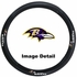 Steering Wheel Cover - Car Truck SUV - Vinyl - Baltimore Ravens