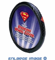 Steering Wheel Cover - Car Truck SUV - DC Comics - Superman - Colored Shield Logo