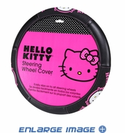 Steering Wheel Cover - Car Truck SUV - Hello Kitty - Collage