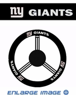 Steering Wheel Cover - Car Truck SUV - Leather - New York Giants