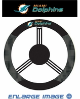Steering Wheel Cover - Car Truck SUV - Mesh - Miami Dolphins