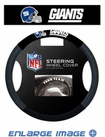 Steering Wheel Cover - Car Truck SUV - Mesh - New York Giants
