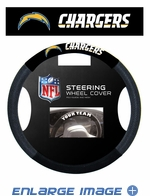 Steering Wheel Cover - Car Truck SUV - Mesh - San Diego Chargers