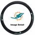 Steering Wheel Cover - Car Truck SUV - Vinyl - Miami Dolphins