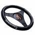 Steering Wheel Cover - Car Truck SUV - Rubber - Camouflage - Browning Buckmark Logo