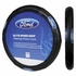 Steering Wheel Cover - Car Truck SUV - Rubber - Elite Series - Ford Logo