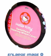 Steering Wheel Cover - Car Truck SUV - Sanrio - Hello Kitty - Hearts