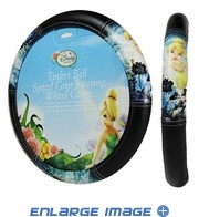 Steering Wheel Cover - Car Truck SUV - Speed Grip - Disney - Tinker Bell - Moody