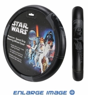 Steering Wheel Cover - Car Truck SUV - Speed Grip - Star Wars - Darth Vader
