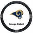 Steering Wheel Cover - Car Truck SUV - Vinyl - St. Louis Rams