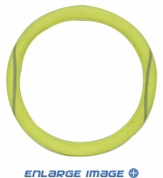 Steering Wheel Cover - Car Truck SUV - Synthetic Leather - Tennis Ball