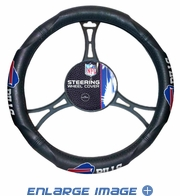 Steering Wheel Cover - Car Truck SUV - Vinyl - Buffalo Bills