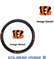 Steering Wheel Cover - Car Truck SUV - Vinyl - Cincinnati Bengals