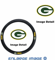 Steering Wheel Cover - Car Truck SUV - Vinyl  - Green Bay Packers