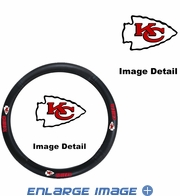 Steering Wheel Cover - Car Truck SUV - Vinyl - Kansas City Chiefs