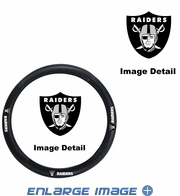 Steering Wheel Cover - Car Truck SUV - Vinyl - Oakland Raiders