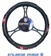 Steering Wheel Cover - Car Truck SUV - Vinyl - San Francisco 49ers