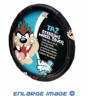 Steering Wheel Cover - Car Truck SUV - Warner Bros. - Taz - Tasmanian Devil Attitude