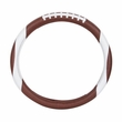 Steering Wheel Cover - Synthetic Leather - Car Truck SUV - Football