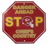Stop Sign - DANGER AHEAD - Kansas City Chiefs - CHIEFS COUNTRY