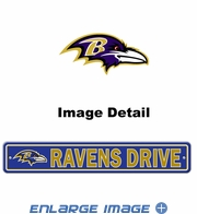 Street Sign - Baltimore Ravens -