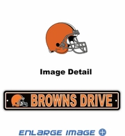 Street Sign - Cleveland Browns -